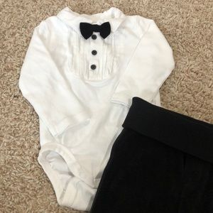 Baby tux outfit-H&M 4-6 months